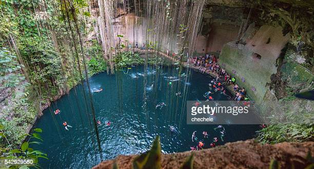 Ik Kil Cénote -Yucatan-Mexique