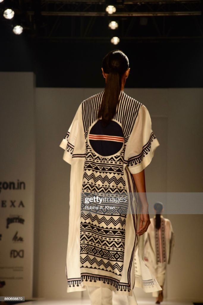 Ikai By Ragini Ahuja S Line At The Fashion Design Council Of India S News Photo Getty Images
