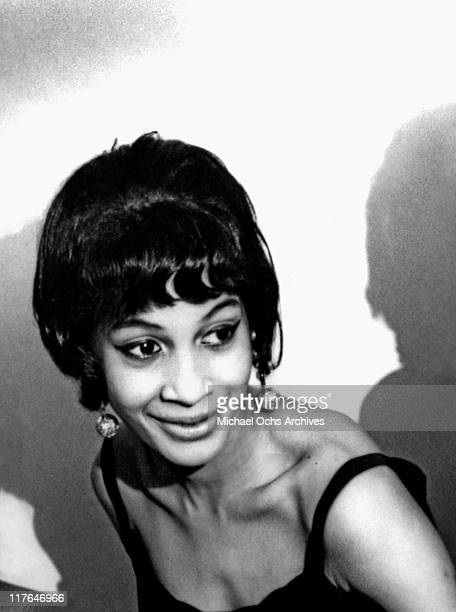 Ike and Tina Turner backup singer and recording artist with The Ikettes Robbie Montgomery poses for a portrait circa 1964