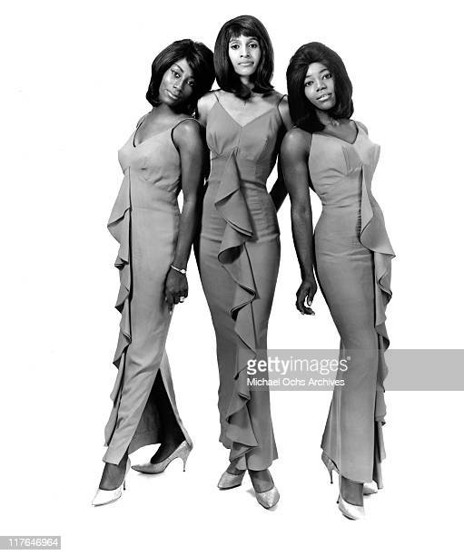 Ike and Tina Turner backup singers and recording artists The Ikettes LR Venetta Fields Robbie Montgomery and Jessie Smith pose for a portrait circa...