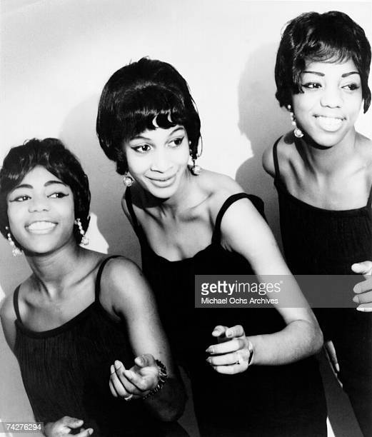Ike and Tina Turner backup singers and recording artists The Ikettes pose for a portrait circa 1964
