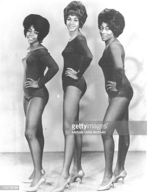 Ike and Tina Turner backup singers and recording artists The Ikettes LR Jessie Smith Robbie Montgomery and Venetta Fields pose for a portrait circa...