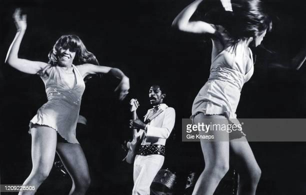 Ike and Tina Turner Revue Ike Turner The Ikettes De Doelen Rotterdam Holland 12 November 1972