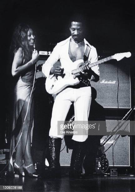 Ike and Tina Turner Revue Tina Turner Ike Turner De Doelen Rotterdam Holland 12 November 1972