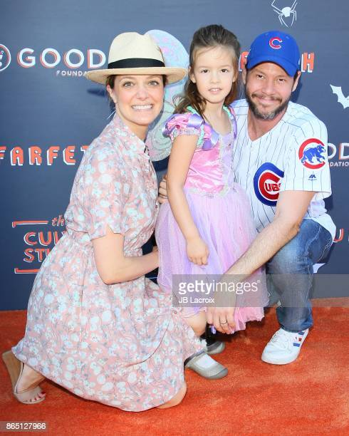 Ike Barinholtz and Erica Hanson attend the GOOD Foundation's 2nd Annual Halloween Bash on October 22 2017 in Los Angeles California