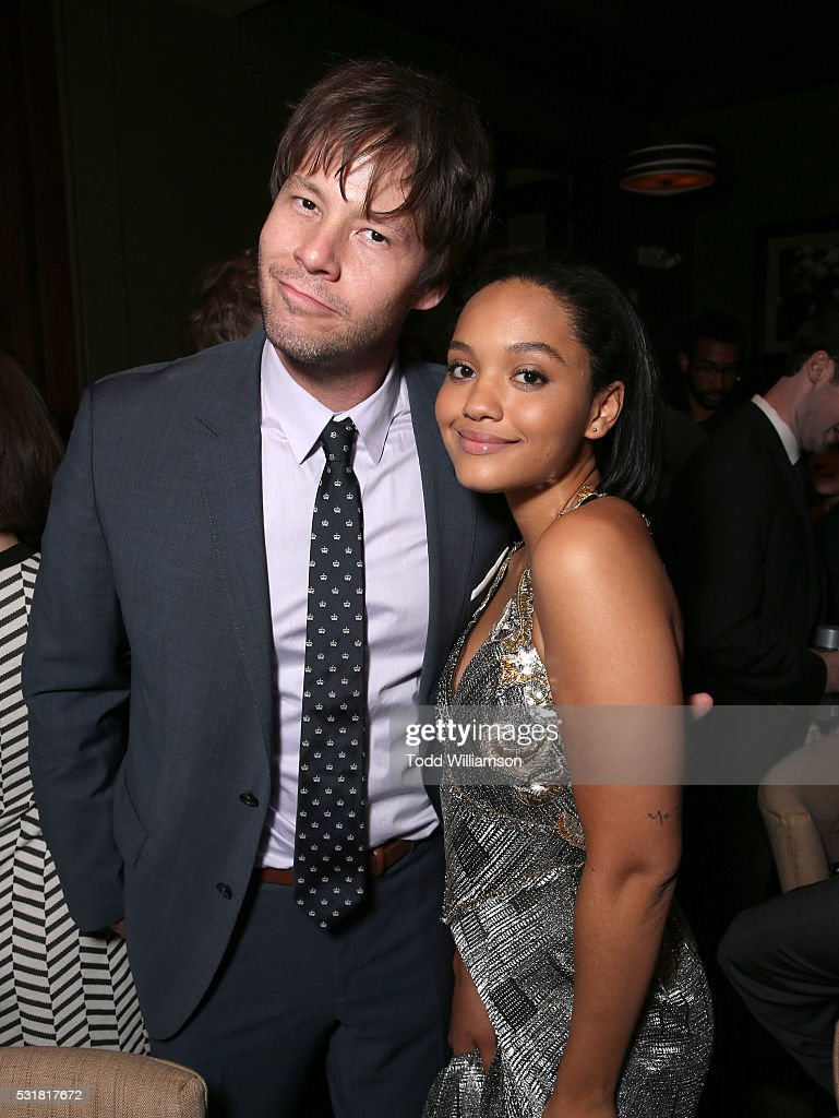 Ike Barinholtz and Kiersey Clemons attend the after party for the premiere of Universal Pictures' 'Neighbors 2: Sorority Rising' on May 16, 2016 in Los Angeles, California.