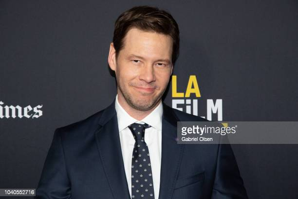 Ike Barinholtz arrives at the 2018 LA Film Festival Gala Screening of 'The Oath' at ArcLight Hollywood on September 25 2018 in Hollywood California