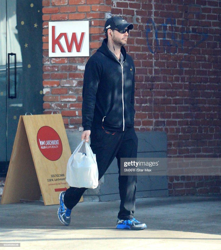 Ike Barinholtz is seen on January 2, 2018 in Los Angeles, CA.