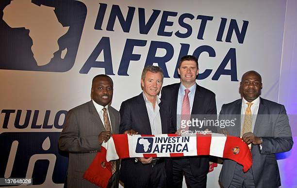 Ike Duker Executive Chairman Tullow Ghana Ltd and Group Advisor Africa Business Aidan Heavey Chief Executive Tullow Oil plc Niall Quinn Director of...