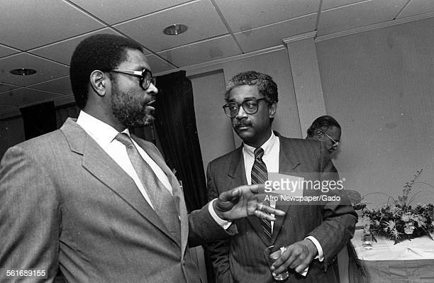 Ike Rasbury and John Jake Oliver Junior the publisher of the Afro American newspaper Baltimore 1961
