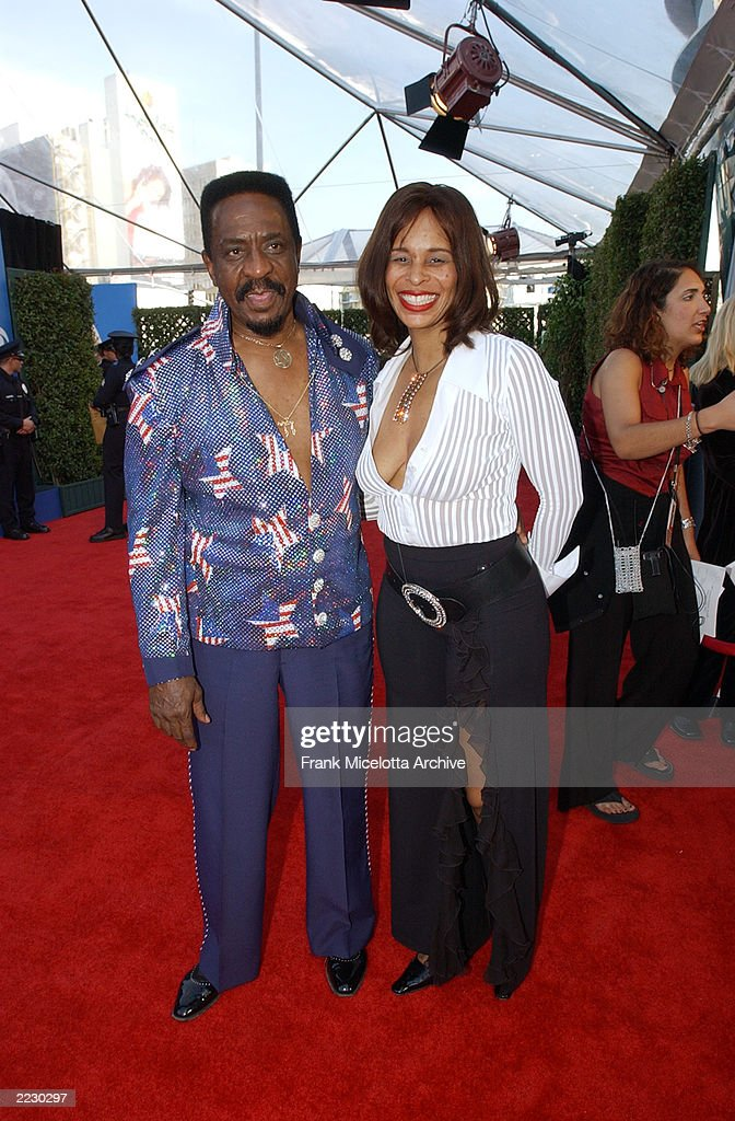 Ike Turner and Audrey Madison at the 44th Annual Grammy Awards at the Staples Center in Los Angeles, CA. 2/27/2002 Photo by Frank Micelotta/Getty Images