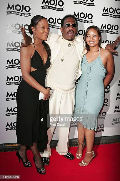 Ike Turner and guests during MOJO Honours List 2007 Arrivals at The Brewery in London Great Britain