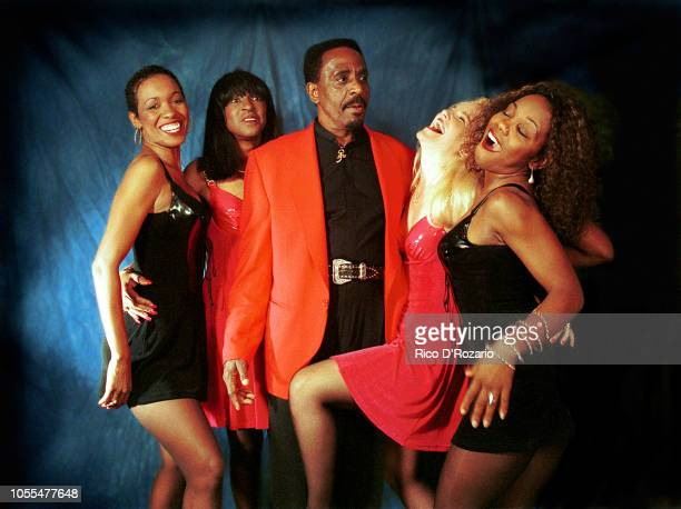 Ike Turner and The New Ikettes studio portrait Netherlands 1995