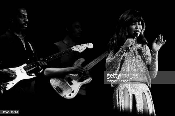 Ike Turner and Tina Turner perform on stage London November 1973