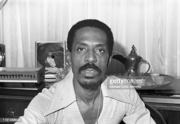 Ike Turner at the studio Bolic Sound March 5 1972 in Los Angeles Califonia