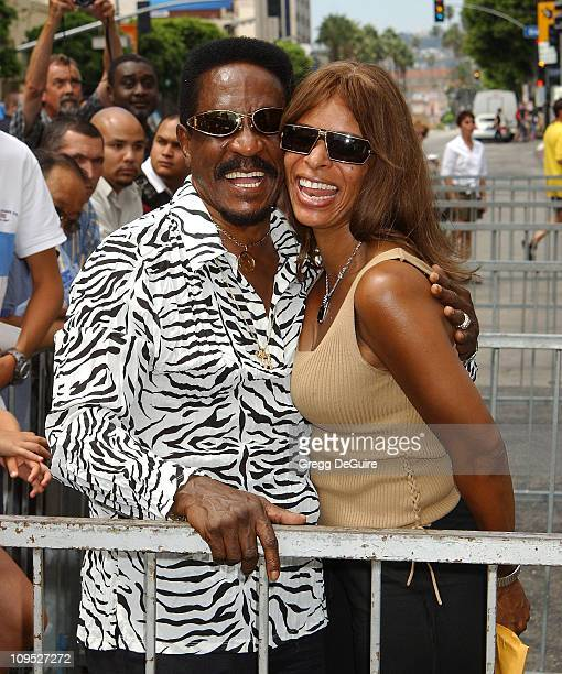 Ike Turner Audrey Madison during Director John Singleton Honored with a Star on the Hollywood Walk of Fame for His Achievements in Film at Hollywood...