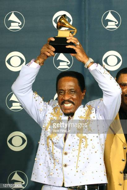 Ike Turner backstage at the 49th annual Grammy Awards, September 11, 2007 at Staples Center in Los Angeles, California.