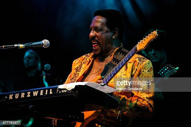 Ike Turner performs on stage at Koh Samui Festival Thailand September 2005
