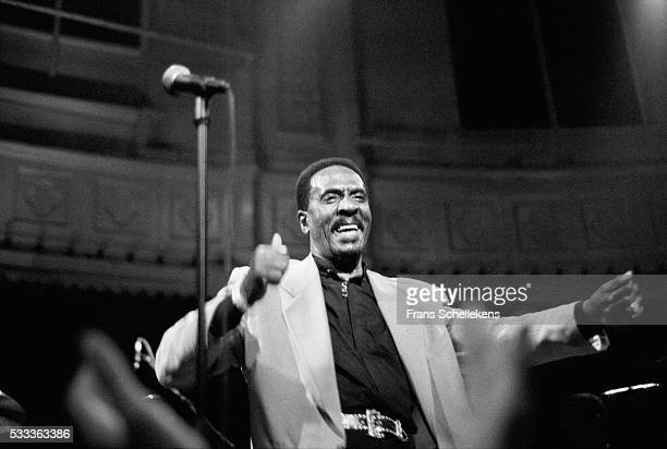 Ike Turner vocals and guitar performs at the Paradiso on May 17th 1995 in Amsterdam the Netherlands