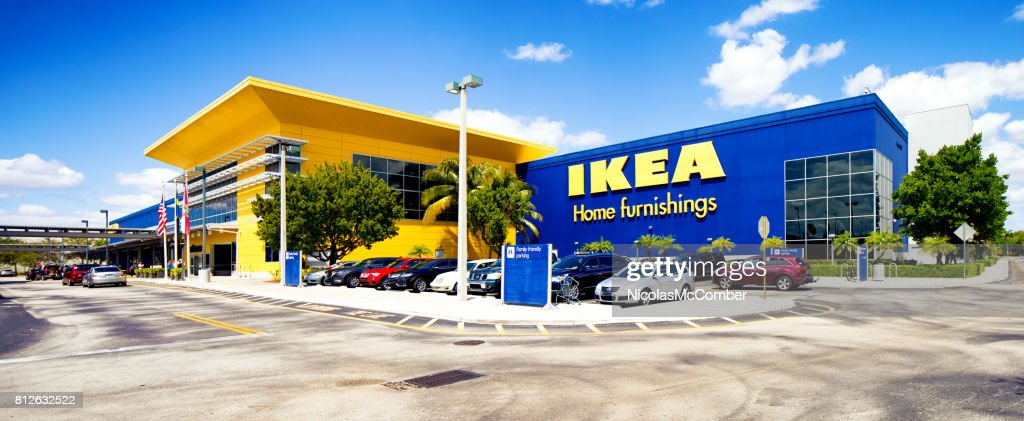 Ikea Furniture Facade Panorama In