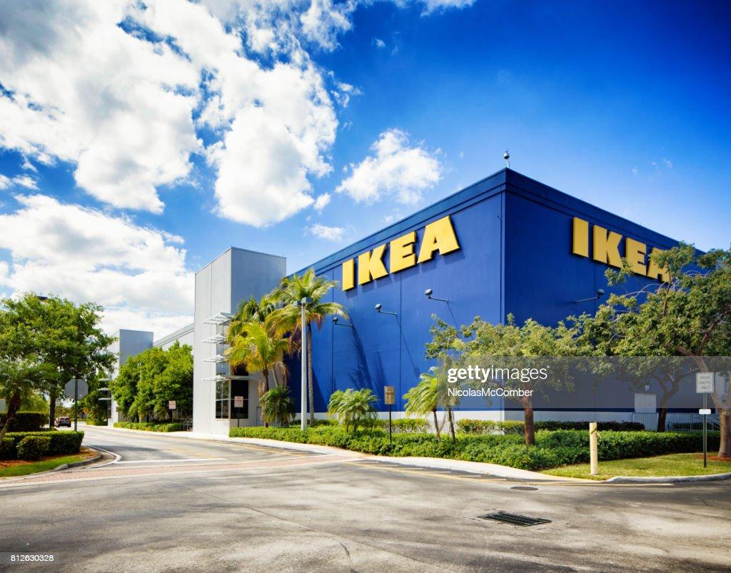 Ikea Furniture Store In Sunrise Florida Near Fort Lauderdale : Stock Photo