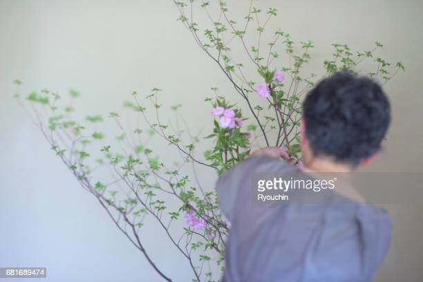 Ikebana can live