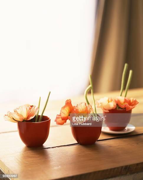 Ikebana centerpieces