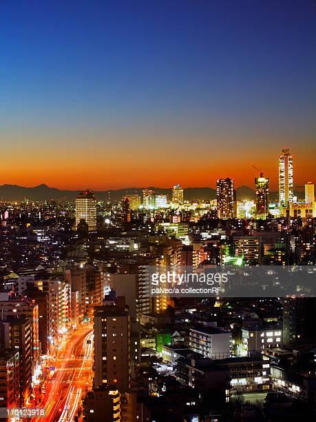 Ikebukuro Cityscape Architecture Road Traffic