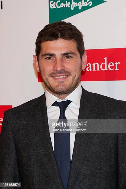 Iker Casillas attends As del Deporte awards 2012 at Palace Hotel on December 10 2012 in Madrid Spain