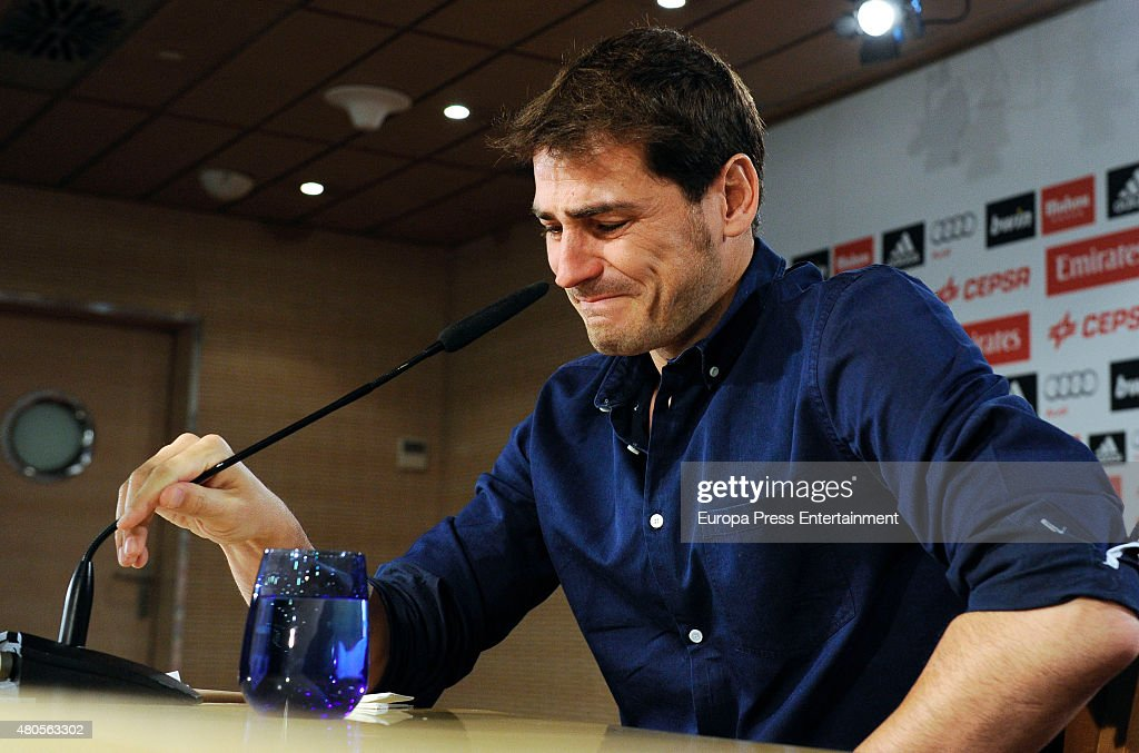 Iker Casillas Announces That He Leaves Real Madrid Football Team : News Photo