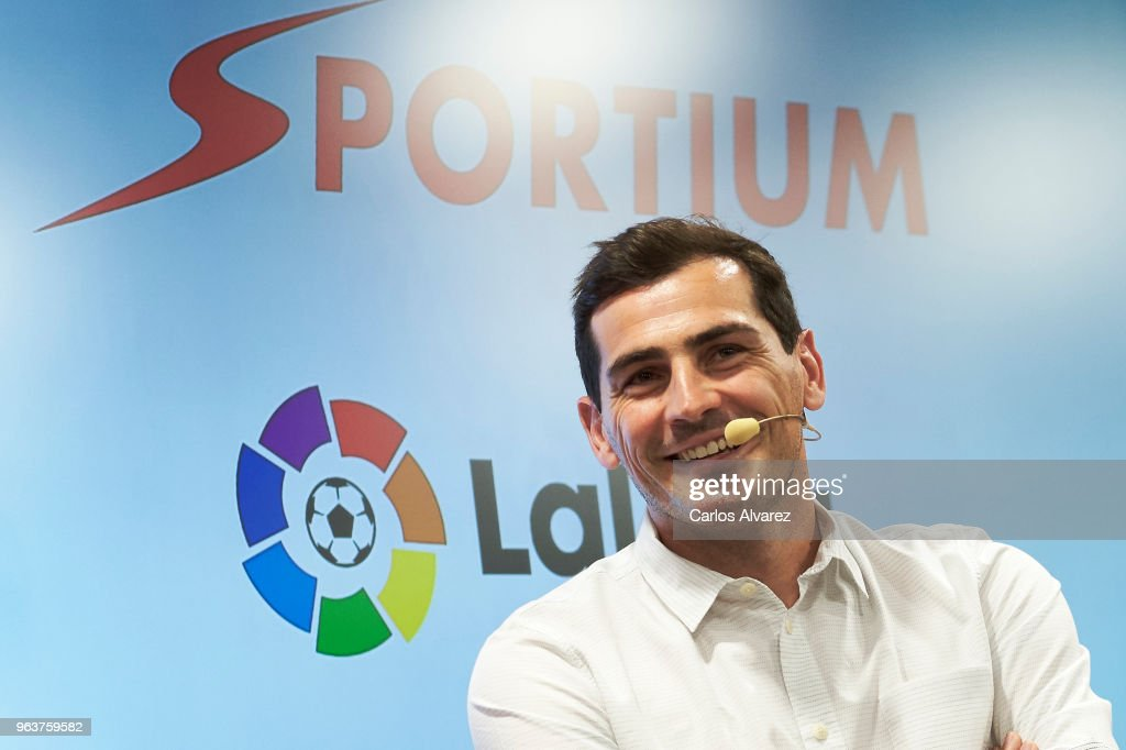 Iker Casillas Is Presented As Sportium Ambassador For FIFA World Cup 2018