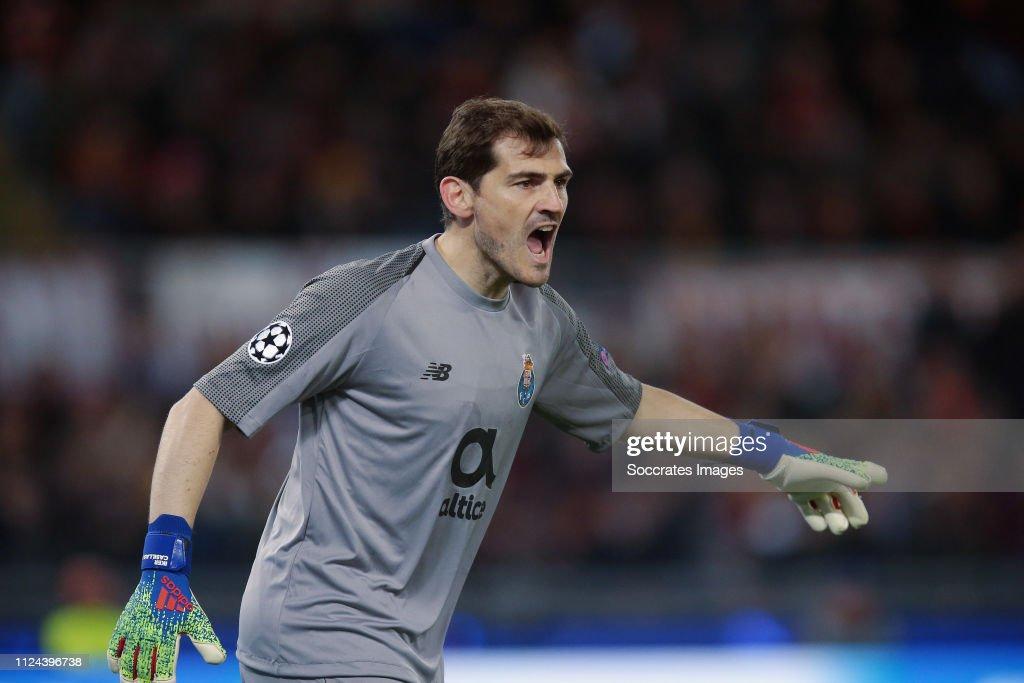 AS Roma v FC Porto - UEFA Champions League : News Photo