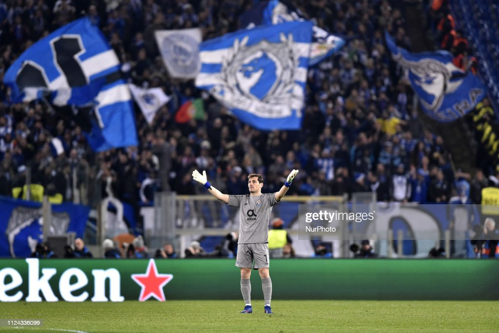 AS Roma v FC Porto UEFA Champions League 12/02/2019. : News Photo