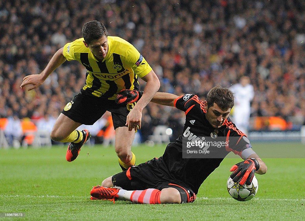 Real Madrid v Borussia Dortmund - UEFA Champions League : News Photo