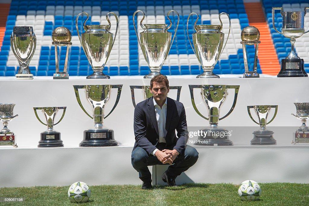 New Farewell of Iker Casillas : News Photo