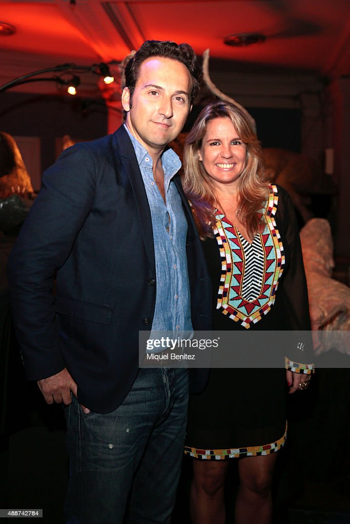 Iker Jimenez and Carmen Porter attend the Cuarto Milenio, The ...