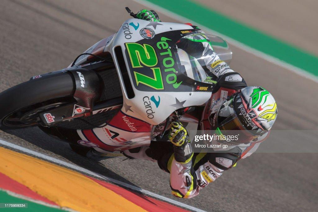 MotoGp of Aragon - Free Practice : News Photo