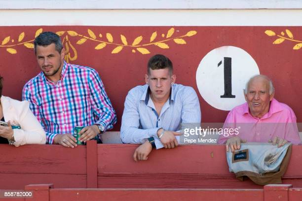Iker Muniain attends 'JuntosSomosInvencibles' Bullfights on October 7 2017 in Torrejon De Ardoz Spain