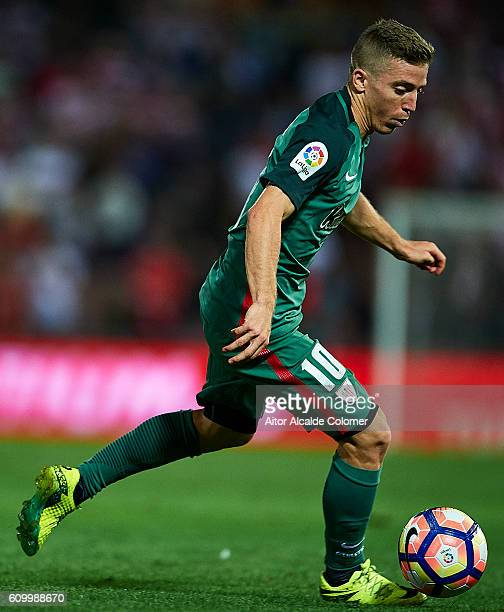Iker Muniain of Athletic Club in action during the match between Granada CF vs SD Eibar as part of La Liga at Nuevo los Carmenes Stadium on September...