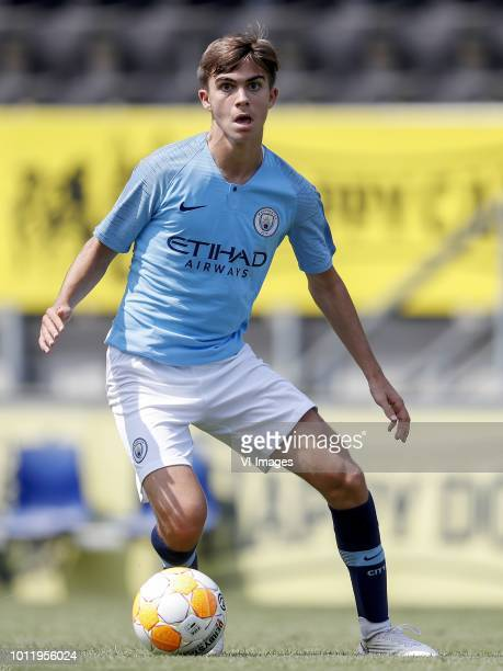 Iker Pozo of EDS Team Manchester City during the Preseason Friendly match between NAC Breda and EDS Team Manchester City at Rat Verlegh stadium on...