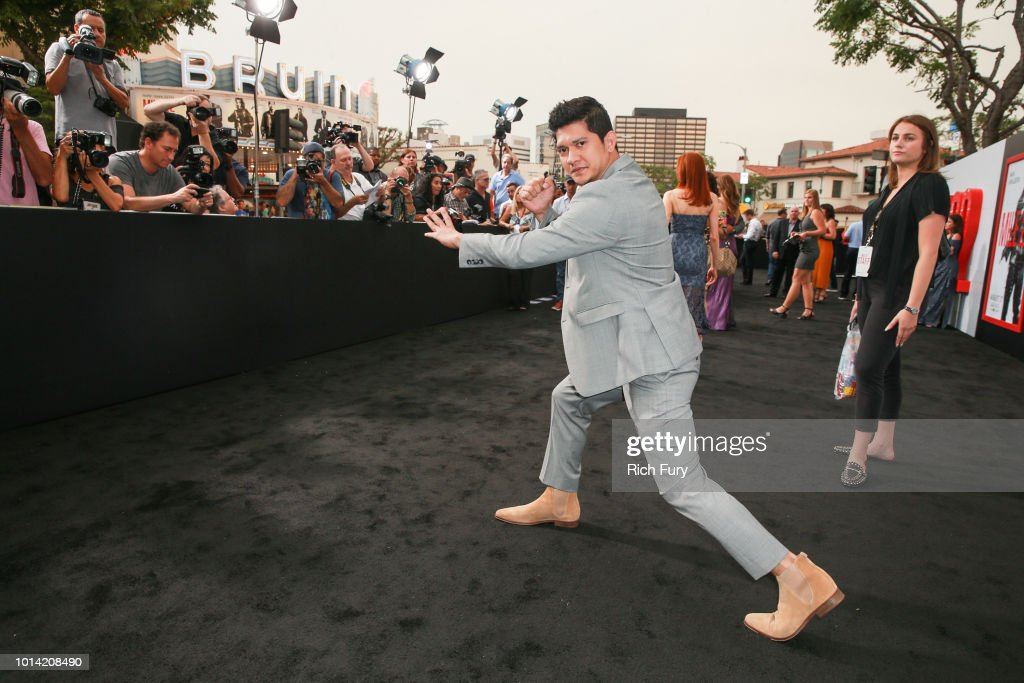 Iko Uwais attends the premiere of STX Films' 'Mile 22' at Westwood Village Theatre on August 9, 2018 in Westwood, California.