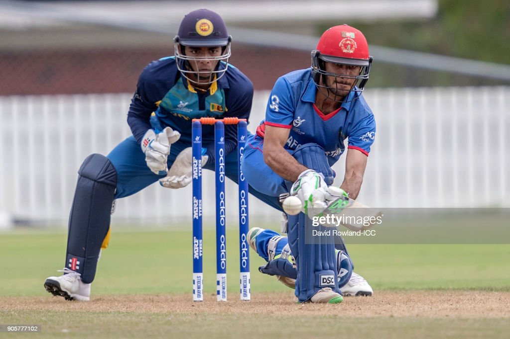 ICC U19 Cricket World Cup - Sri Lanka v Afghanistan