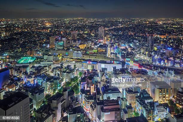 Ikubukuro Station Night