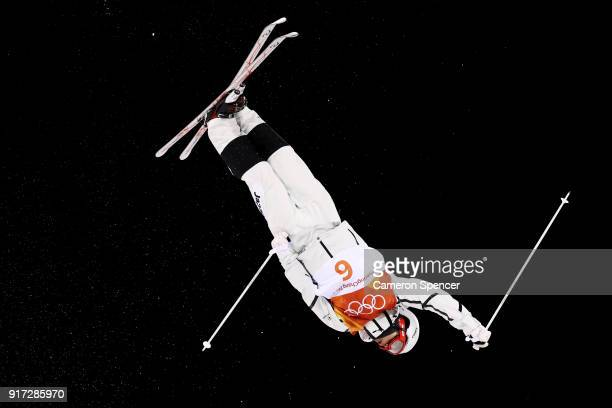 Ikuma Horishima of Japan competes in the Freestyle Skiing Men's Moguls Final on day three of the PyeongChang 2018 Winter Olympic Games at Phoenix...