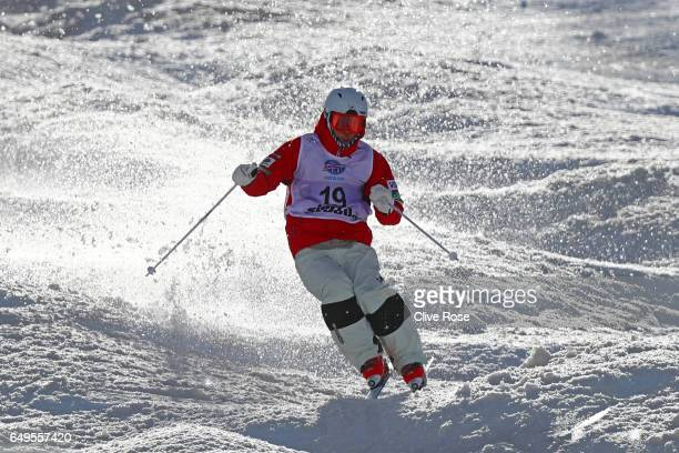 Ikuma Horishima of Japan competes in the Men's Moguls big final on day one of the FIS Freestyle Ski & Snowboard World Championships 2017 on March 8,...