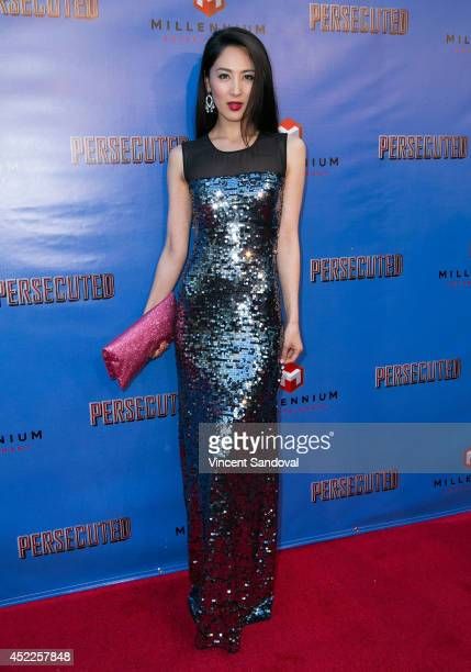 Ikumi Yoshimatsu attends the Los Angeles premiere of 'Persecuted' at ArcLight Hollywood on July 16 2014 in Hollywood California