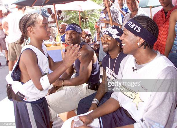L'il Bow Bow and MasterP at MTV's 'Celebrity Slam' taped in Los Angeles Ca 9/17/00 EXCLUSIVE Photo by Kevin Winter/ImageDirect