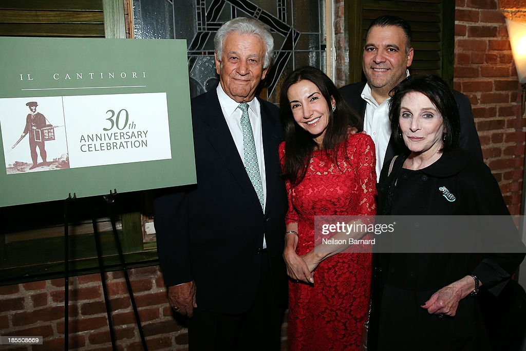 Il Cantinori's 30th Anniversary Celebration To Benefit Food Bank For New York City : News Photo