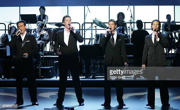 Il Divo performs during the 32nd Annual Daytime Emmy Awards at Radio City Music Hall May 20, 2005 in New York City.