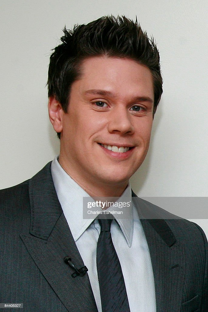 Il Divo's David Miller performs at 'The Morning Show with Mike and Juliet' at FOX studios on January 22, 2009 in New York City.